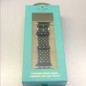 Kate Spade Apple Watch Leather strap Polka Dots